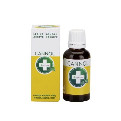 Cannol konopný olej 30 ml Annabis s.r.o.