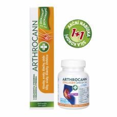 Annabis ARTHROCANN GEL 75 ml + ARTHROCANN COLLAGEN 60 tbl.