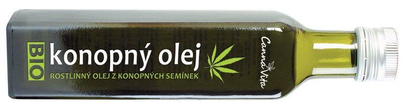 BIO Konopný olej za studena lisovaný 250ml CANNABIS Pharma s.r.o.