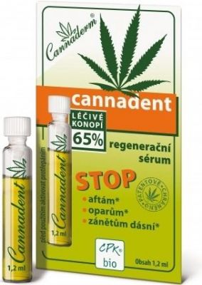 Cannadent regenerační sérum 1,2ml Simply You Pharmaceuticals a.s.