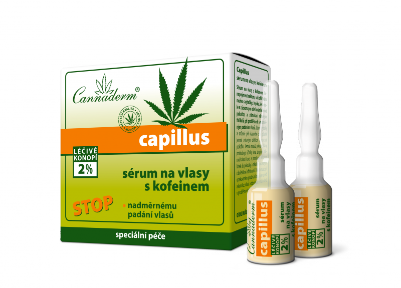 Capillus sérum na vlasy s kofeinem - balení 8 x 5ml exp.2/2018 Simply You Pharmaceuticals a.s.