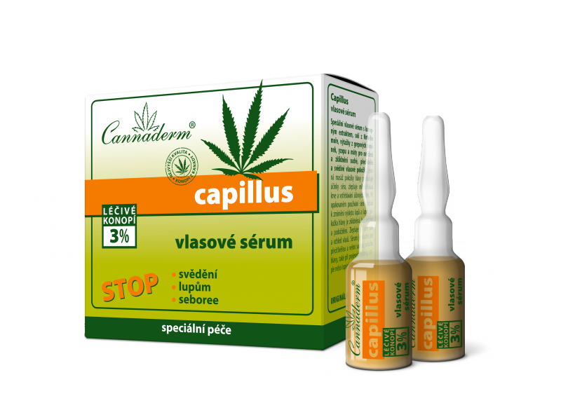 Capillus vlasové sérum - balení 8 x 5ml exp.11/17 Simply You Pharmaceuticals a.s.