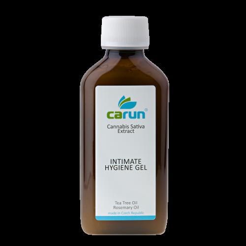 Carun Konopný intimní mycí gel 200 ml