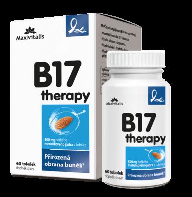 Maxivitalis  B17 therapy 500 mg, 60 tobolek