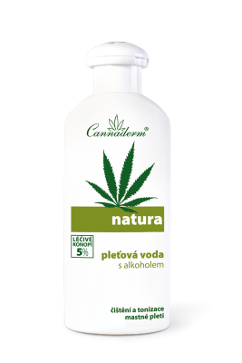 Natura - pleťová voda s alkoholem na mastnou pleť 200ml exp. 4/17